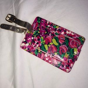 Lily Pulitzer luggage tag